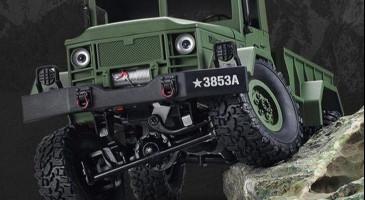 Радиоуправляемый военный грузовик