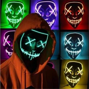 Неоновые маски - дарим>