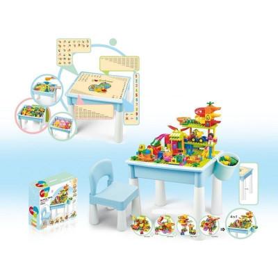 Стол для конструктора Pilage и комплект деталей 4 в 1