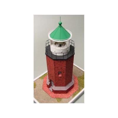 Сборная картонная модель Shipyard маяк Rotes Kliff Lighthouse (№60), 1/87