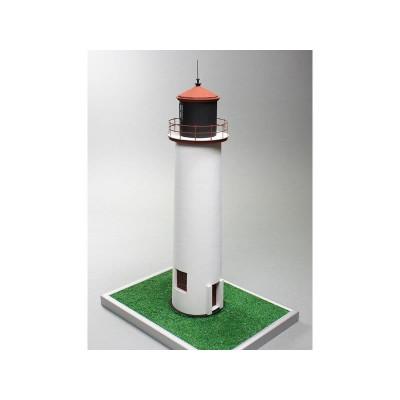 Сборная картонная модель Shipyard маяк Minnesota Point Lighthouse (№82), 1/72