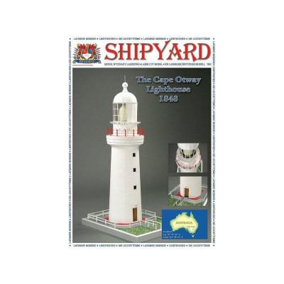 Сборная картонная модель Shipyard маяк Lighthouse Cape Otway (№3), 1/72