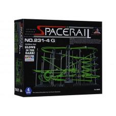 Конструктор динамический Spacerail 231-4G, 26м (Level 4), светящиеся рельсы