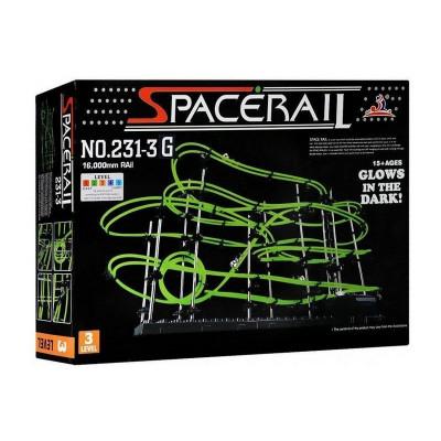 Конструктор динамический Spacerail 231-3G, 16м (Level 3), светящиеся рельсы