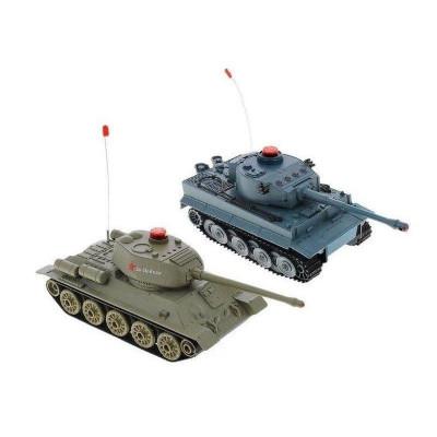 Р/У танковый бой Huan Qi Т-34 и Tiger 1:32 2.4G (два танка, з/у, акк)