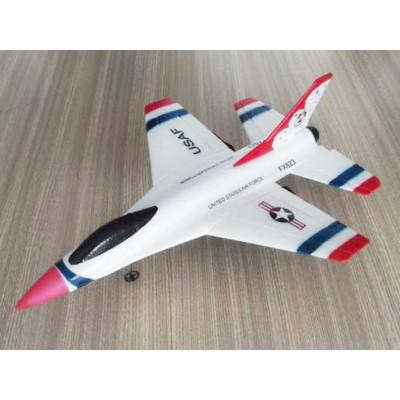Р/У самолет CTF F16 Thunderbirds FX-823 290мм 2.4G EPP Gyro RTF (с гироскопом)