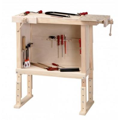 Верстак столярный с нишей для хранения инструментов Pebaro