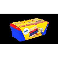Пластиковый ящик с инструментами для работы по дереву с лобзиком Pebaro