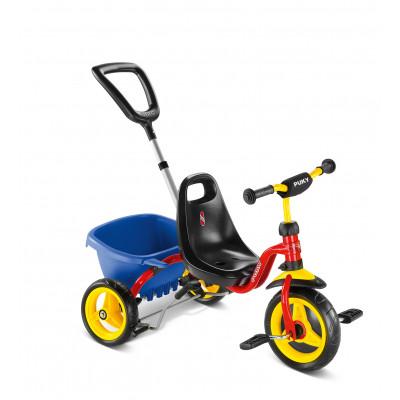 Трехколесный велосипед Puky CAT 1S 2213 red красный 2+