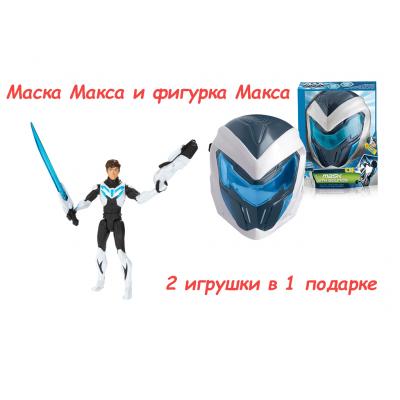Max Steel - Фигурка и Маска со звуком 2в1