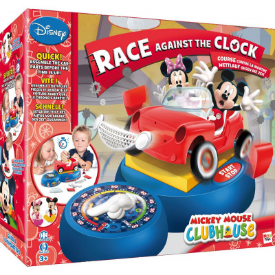 Mickey Mouse - Гонка на время. Настольная игра