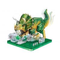 """Научный опыт """"Динозавр"""" с красками"""