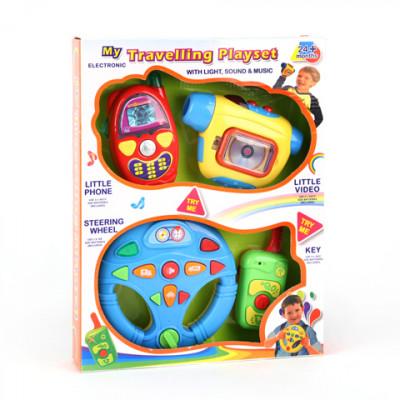 Для малышей - Руль, Камера, Пульт, Телефон - Игровой Набор
