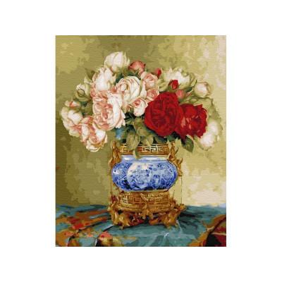 Картина по номерам 40х50 Бузин. Восточный мотив (29 цветов)