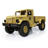 Р/У машина WPL военный грузовик (песочный) 1/16+акб 2.4G RTR