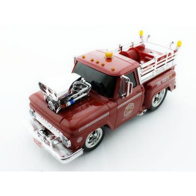 Р/У пожарная машина из серии Muscle Сar с гоночным Мотором 1/16 + свет + звук