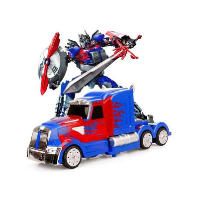 Р/У трансформер MZ Optimus Prime 2336Q 1/14, пульт ружьё