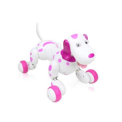 Радиоуправляемая робот-собака HappyCow Smart Dog 2.4G (розовая)