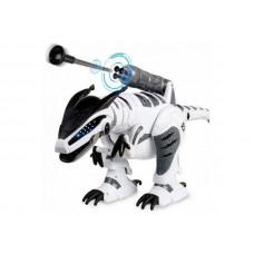 Радиоуправляемый робот-динозавр LENENG TOYS K9 Dinosaur звук, свет, танцы, сенсор, стреляет присосками