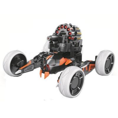 Р/У боевая машина Universe Chariot, лазер, ракеты, голубая, Ni-Mh и З/У, 2.4G